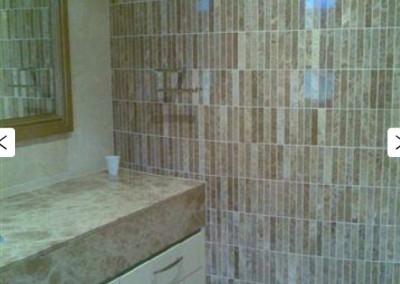Curved Mosaic Wall
