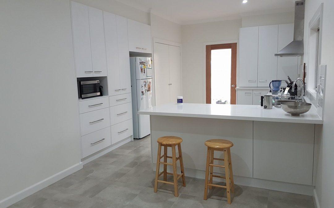 kitchen Laundry Renovation Warragul 2016